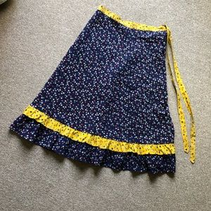 Dresses & Skirts - VINTAGE 1970S WRAP SKIRT